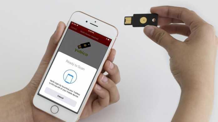 NFC als zweiter Faktor für das iPhone