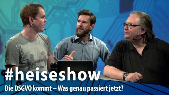 heiseshow, live ab 12 Uhr: