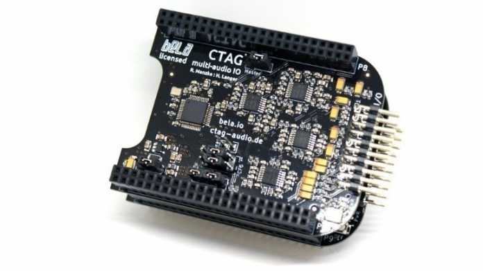 BeagleBone mit CTAG Face Cape