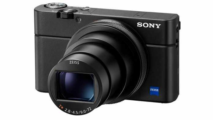 Sony zeigt Kompaktkamera RX100 VI