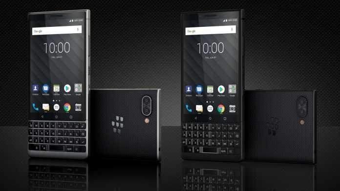 BlackBerry Key2: Android-Smartphone mit Hardware-Tastatur