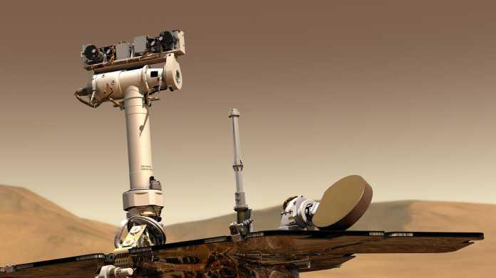 Mars-Rover Opportunity: Gigantischer Sandsturm könnte Missionsende bedeuten