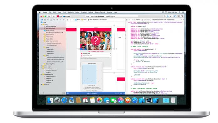 Xcode auf einem Mac