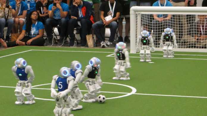 RoboCup-WM: Deutschland ist Doppel-Weltmeister im Fußball