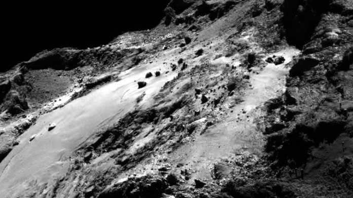 ESA-Sonde Rosetta: Alle Aufnahmen nun veröffentlicht