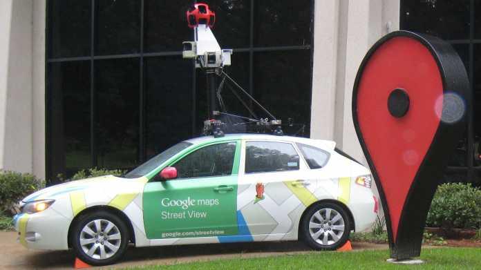 Ein Kamerauto für Street View
