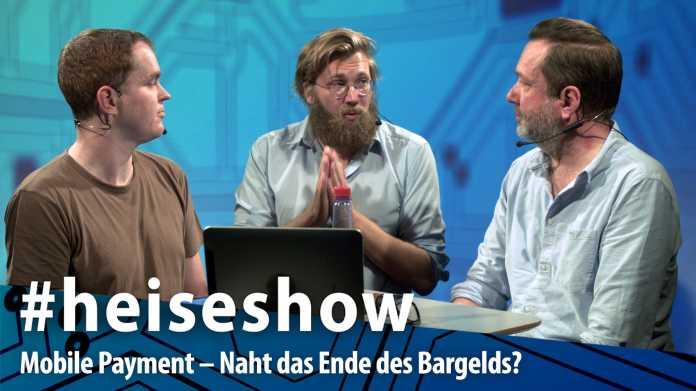 #heiseshow, live ab 12 Uhr: