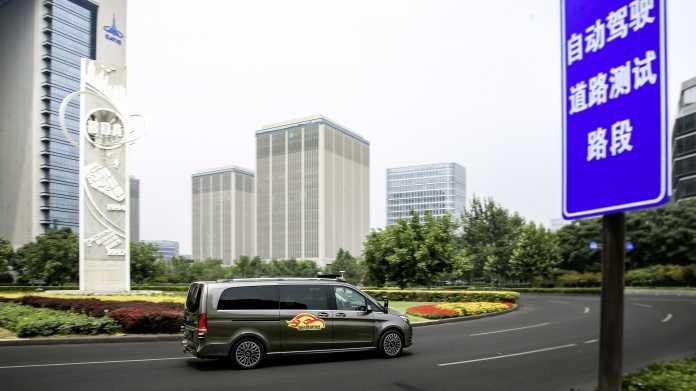 Autonomes Fahren: Daimler darf vollautomatisierte Autos in Peking testen