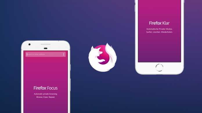 Firefox Klar mit Seiten-Suche und Face-ID-Support