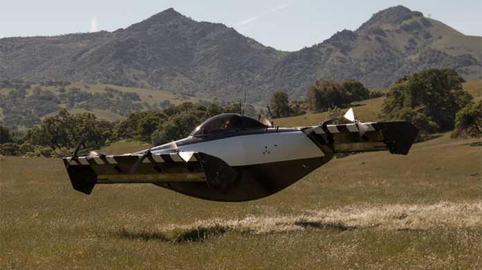 Elektroflugzeug Blackfly: Einsitziger Senkrechtstarter zeigt sich