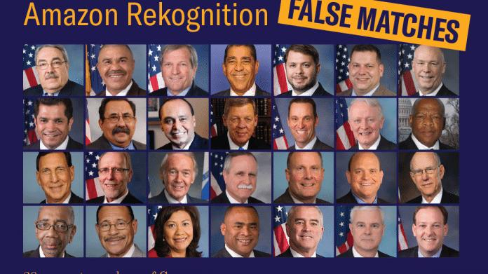 Falsches Matching: Amazon Rekognition sieht Kongressabgeordnete auf Polizeifotos