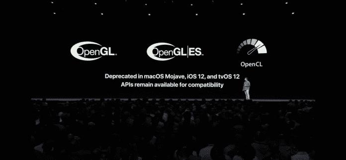 Der Anfang vom Ende für OpenGL und OpenCL in macOS 10.14 –und iOS 12.