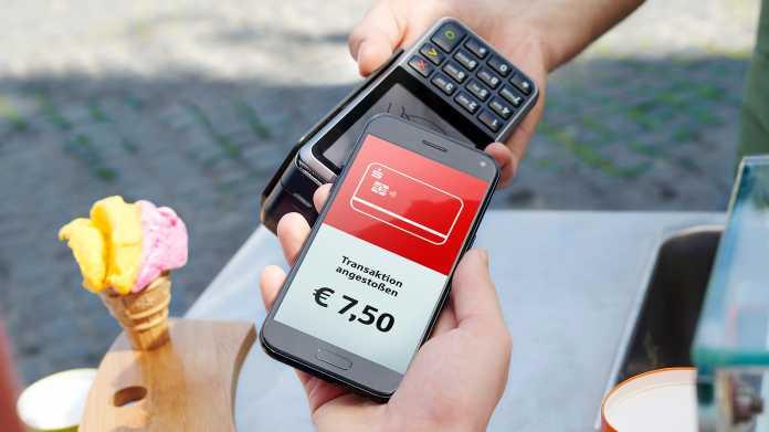 Sparkassen starten Mobiles Bezahlen