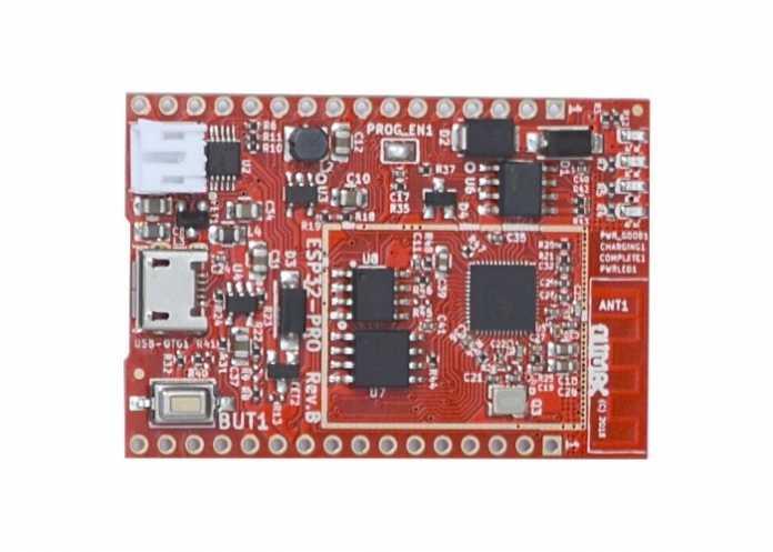 ESP32: rote Platine