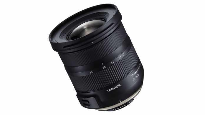 Kompaktes Weitwinkelzoom: Tamron 17-35mm f/2.8-4 Di OSD