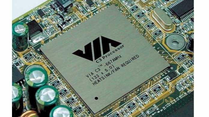 Prozessor VIA C3 von VIA Technologies