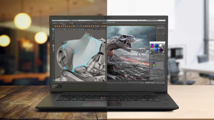 ThinkPad P1 und P72: Neue Workstations von Lenovo