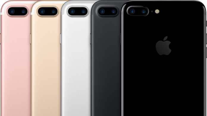 Die iPhone 7 Plus-Familie