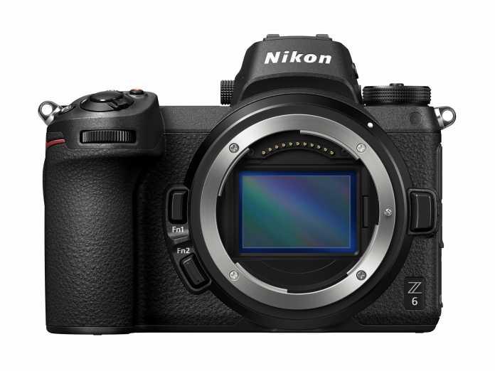 Nikon Z6 mit offenem Bajonett
