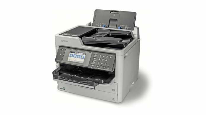 Epson WorkForce Pro WF-C5710DWF: Tintenvorrat im Beutel