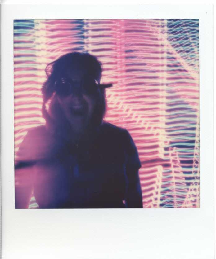 Light-Painting mit der Polaroid OneStep+