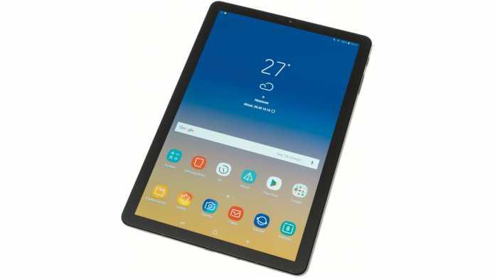 Samsung Galaxy Tab S4: Tablet mit Extras