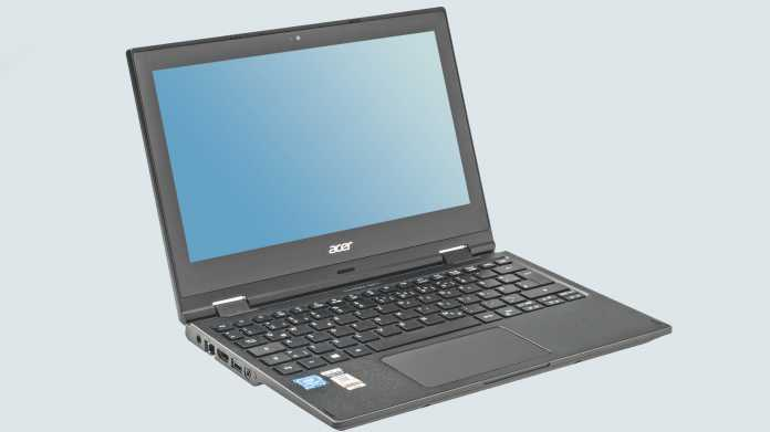 Test: Acer TravelMate Spin B1 mit IPS-Display