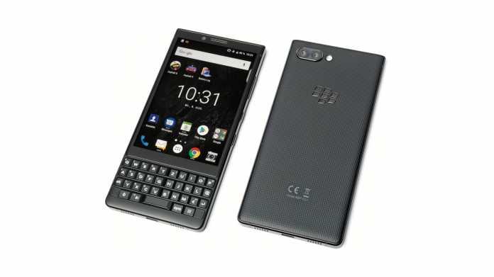 Smartphone für Vielschreiber: Blackberry Key2 mit fester Tastatur