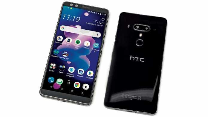 Druck von allen Seiten: Android-Smartphone HTC U12+