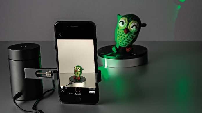 Laserschwer(t): 3D-Scanner für das Smartphone