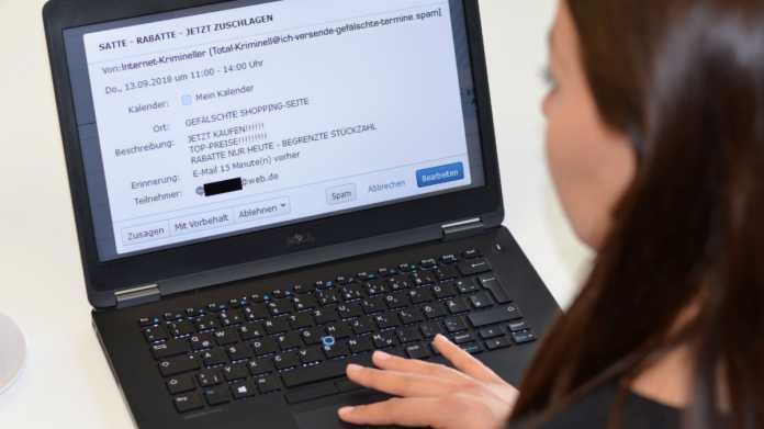 GMX und Web.de schützen vor Kalender-Spam