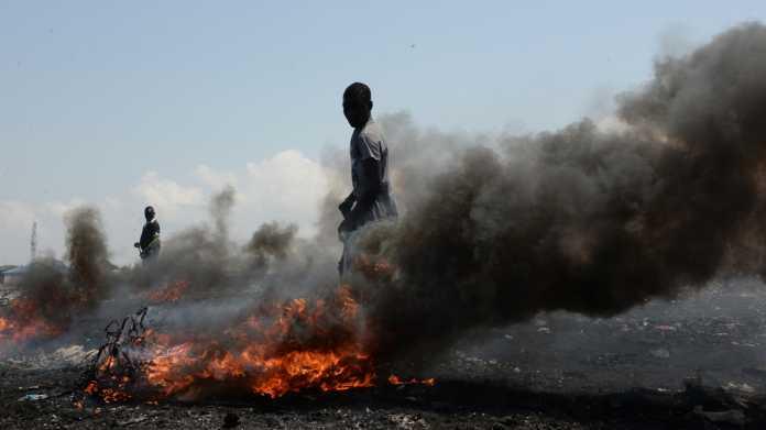 Unterwegs mit unserem Elektroschrott: Von Hamburg nach Ghana