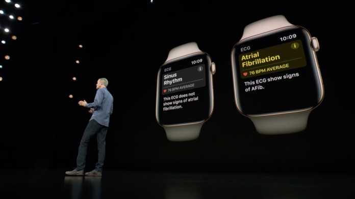 Die EKG-Funktion mit zugehöriger App der Apple Watch Series 4 soll im Laufe des Jahres in den USA starten. Apple hält sich noch bedeckt, wann es in Deutschland so weit ist.