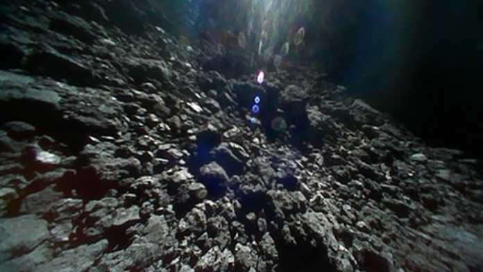 Sonde Hayabusa2: Noch mehr Bilder von der Asteroidenoberfläche