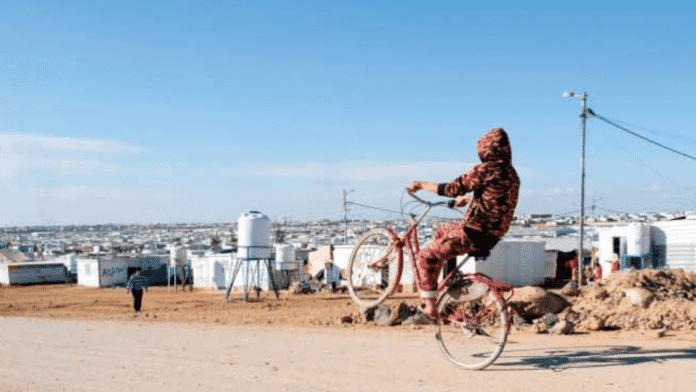 Flüchtlingslager auf Blockchain