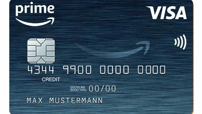 Amazon führt Kreditkarte für Prime-Kunden in Deutschland ein