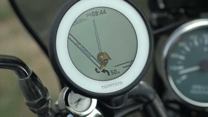 Vio von TomTom: Motorrad- und Rollernavigation