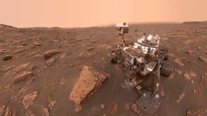 Mars-Rover Curiosity wechselt wieder die Gehirnhälften