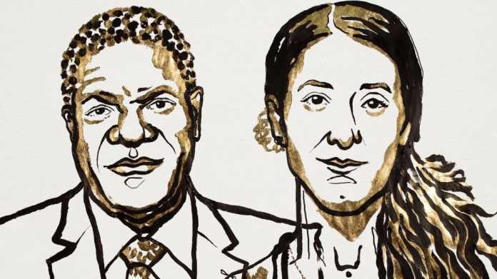 Friedensnobelpreis für Einsatz gegen sexuelle Gewalt in Kriegen