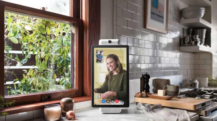 Portal und Portal+: Facebook stellt Smart Speaker für Videotelefonie vor