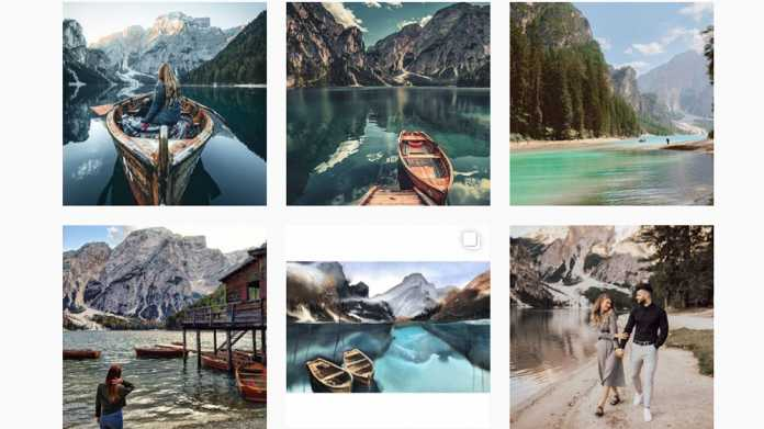 Die Pilgerreisen der Instagram-Jünger