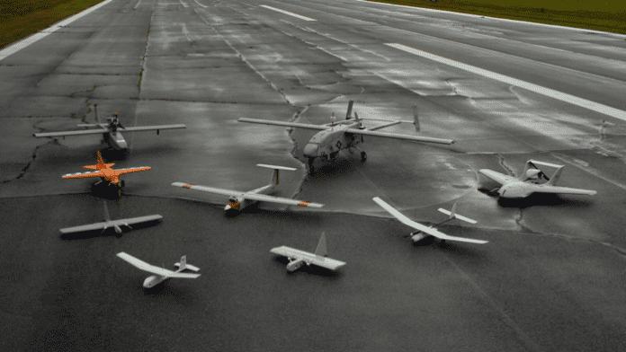 Transport: Laser lädt Drohne auf
