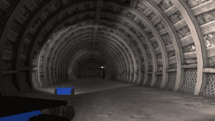 Roboter im Untergrund