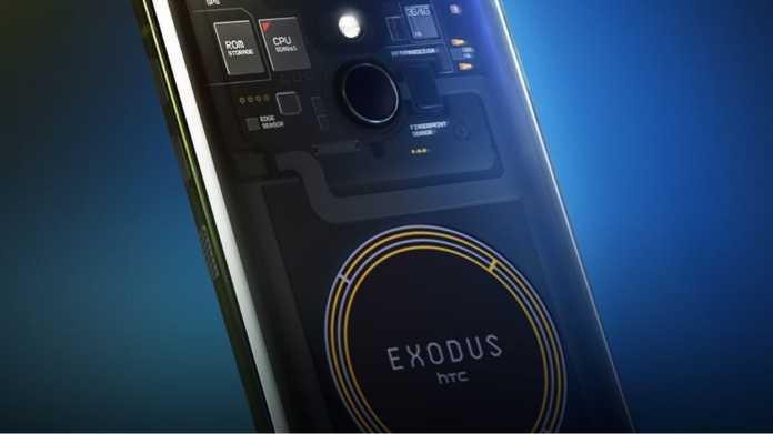"""Exodus 1: HTC stellt sein """"Blockchain-Smartphone"""" vor"""