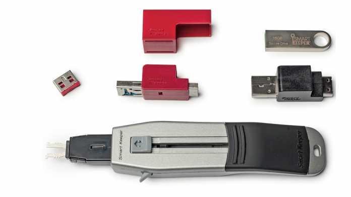 USB-Ports abschließen mit Smart Keeper Locks