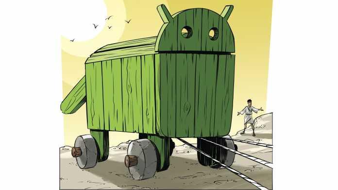 Selbstverteidigung gegen Android-Trojaner
