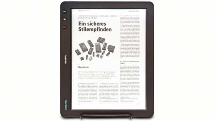 E-Ink-Monitor mit HDMI-Anschluss: Dasung Paperlike Pro