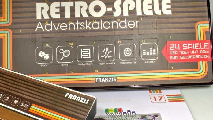 Franzis Elektronik Retro Spiele Adventskalender 2018