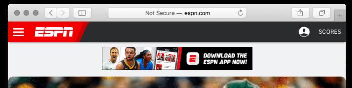 HTTP-Seiten werden künftig auch von Safari mit einer Warnmeldung versehen.