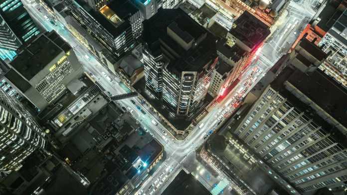 Innenstadt, Stadt, Verkehr, Handel